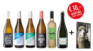 Neleman proefpakket wit Organic 6 flessen