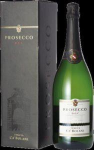 Ca' Bolani Prosecco Spumante Magnum in geschenkverpakking