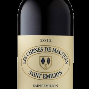 2012 Les Chênes de Macquin 2nd vin du Château Pavie-Macquin Saint Emilion Magnum