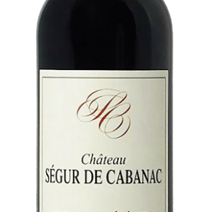 2013 Saint Estephe Segur de Cabanac Cru Bourgeois