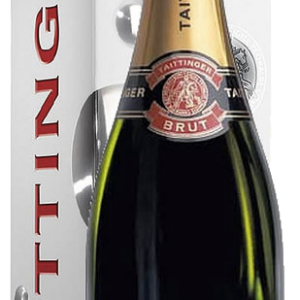 Champagne Taittinger Brut Reserve in luxe doos