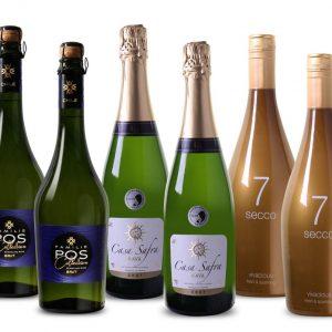 Wijnpakket Favoriete Mousserende Wijnen (6 flessen)