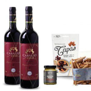 Wijnpakket Spaans temperament