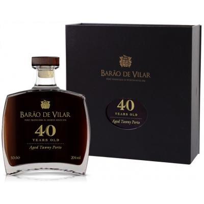 Barao de Vilar 40 Years old Port (1 fles)