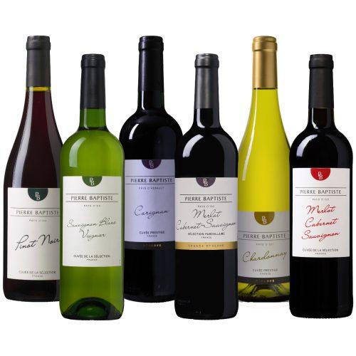 Wijnpakket Zuid-Frankrijk