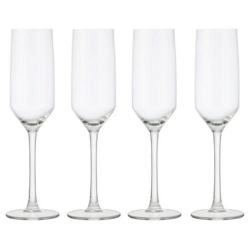 HEMA 4-pak Champagneglazen 230ml