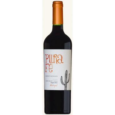 Antiyal Pura Fe Cabernet Sauvignon, 2015, Maipo Valley, Chili, Rode wijn