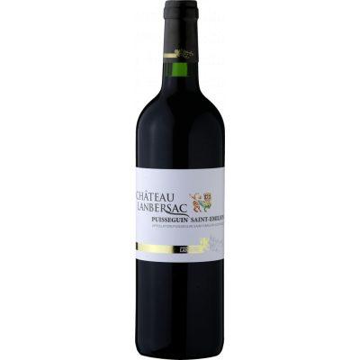 Celene Bordeaux Chateau Lanbersac 2016, Puisseguin St-Emilion, Frankrijk, Rode wijn