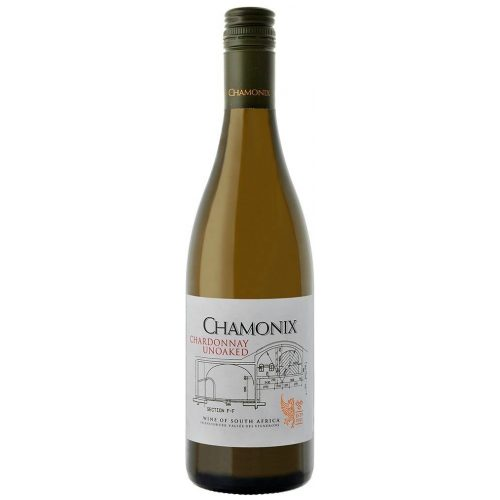 Chamonix Unwooded Chardonnay, 2018, Zuid-Afrika, Witte Wijn