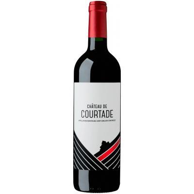 Château De Courtade Montagne Saint-Emilion, 2015, Bordeaux, Frankrijk, Rode Wijn