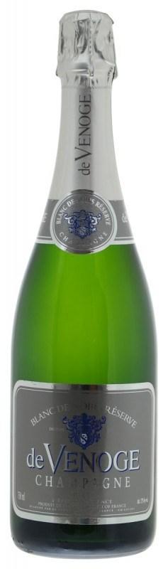 De Venoge Brut Blanc de Noirs Champagne