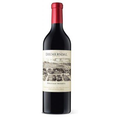 Diemersdal Pinotage Reserve, 2018, Durbanville, Zuid-Afrika, Rode wijn