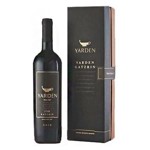 Golan Heights Winery Yarden Katzrin Cabernet Sauvignon, 2014, Made in the Golan Heights, Israeli settlements