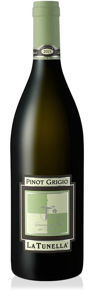La Tunella Pinot Grigio Friuli 2018, Italië, Witte Wijn