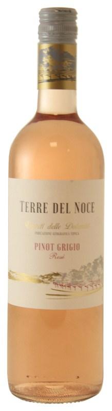 Mezzacorona Terre Del Noce Rosé Pinot Grigio, 2019, Trentino, Italië, Rosé wijn