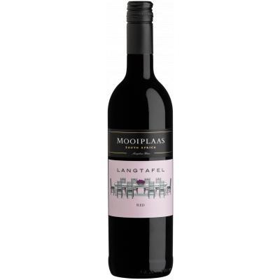 Mooiplaas Wine Estate Langtafel Cabernet Sauvignon-Shiraz, 2018, Stellenbosch, Zuid-Afrika, Rode wijn