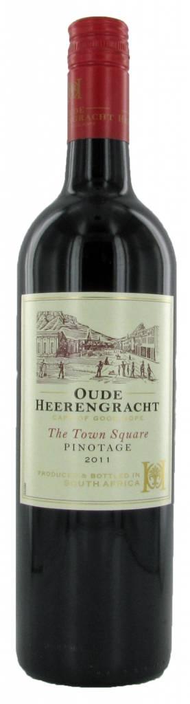 Oude Heerengracht Town Square Pinotage, 2018, Westkaap, Zuid-Afrika, Rode Wijn