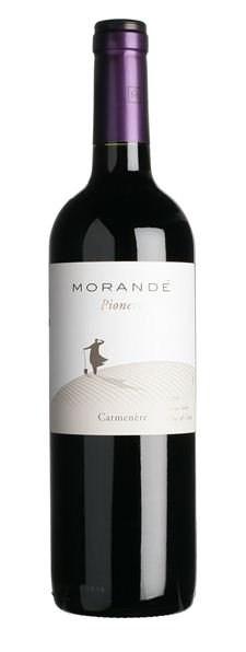 Pablo Morande Pionero, Carmenere, 2017, Chili, Rode Wijn