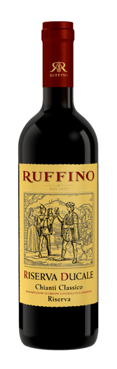 Ruffino Riserva Ducale Chianti Classico DOCG, 2015, Italië, Rode wijn