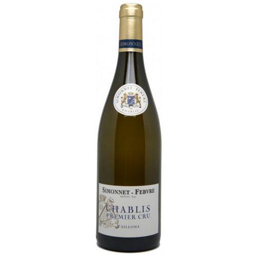 Simonnet Febvre Chablis Premier Cru Les Vaillons, 2017, Bourgogne, Frankrijk, Witte Wijn