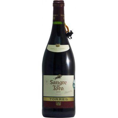 Torres Sangre de Toro Garnatcha, 2018, Catalonië, Spanje, Rode Wijn