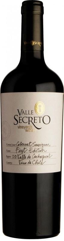 Valle Secreto First Edition Cabernet Sauvignon