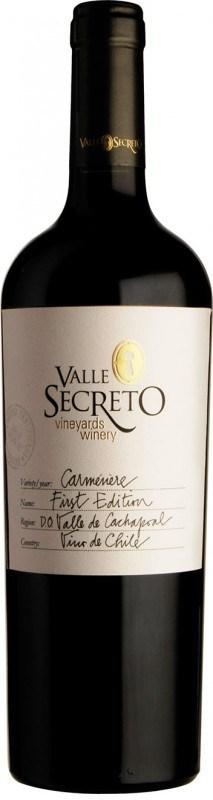 Valle Secreto First Edition Carménère