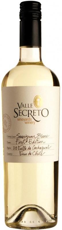 Valle Secreto First Edition Sauvignon Blanc