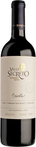 Valle Secreto Private Edition Syrah Cab Sauv Carménère Red Blend