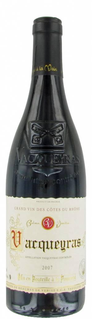 Vignerons de Beaumes de Venise Vacqueyras Rouge, 2018, Rhône-Vallei, Frankrijk, Rode Wijn