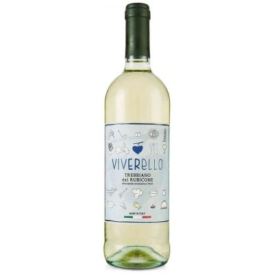 Viverello Trebbiano del Rubicone, 2018, Italië, Witte Wijn