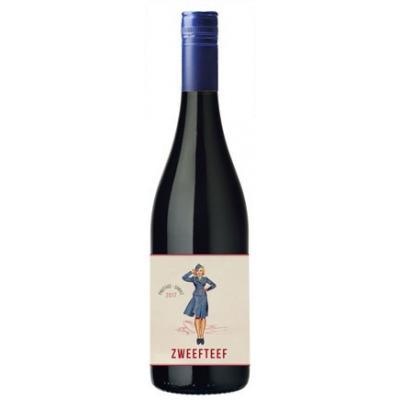 Zweefteef Pinotage/Shiraz, 2018, Western Cape, Zuid-Afrika, Rode wijn