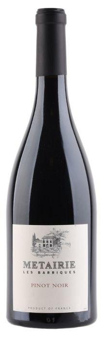 Métairie Les Barriques, Pinot Noir, 2018, Pays d'Oc, Frankrijk, Rode wijn