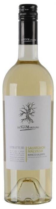 San Marzano Tratturi Sauvignon-Malvasia, 2019, Puglia, Italië, Witte wijn