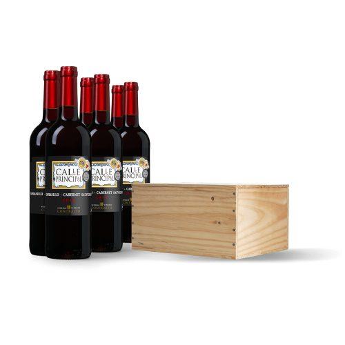 Wijnkist Calle Principal Tempranillo-Cabernet Sauvignon Viño de la Tierra Castilla