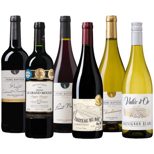 Wijnpakket Frankrijk
