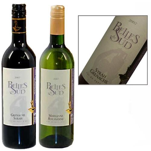 Belles du Sud wijn duo rood en wit