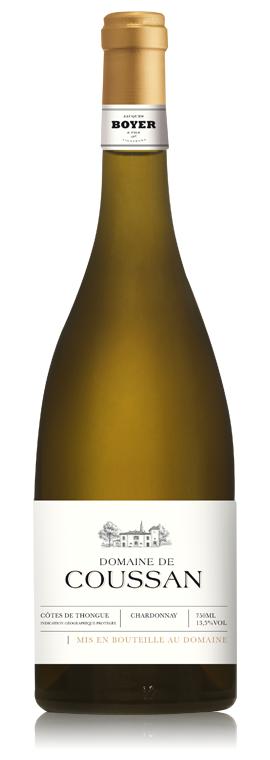 Domaine de Coussan Blanc, 2019, Côtes de Thongue, Frankrijk, Witte wijn