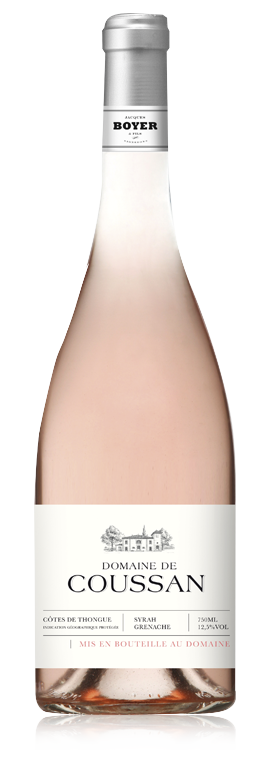 Domaine de Coussan Rosé, 2019, Côtes de Thongue, Frankrijk, Rosé wijn