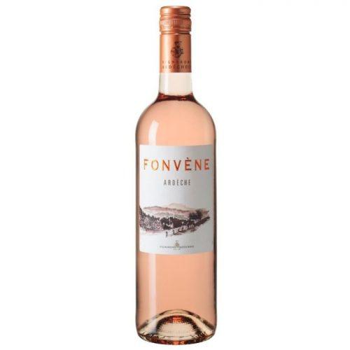 Fonvène Rosé, 2019, Ardèche, Frankrijk, Rosé wijn