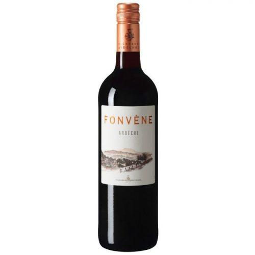 Fonvène Rouge, 2018, Ardèche, Frankrijk, Rode wijn