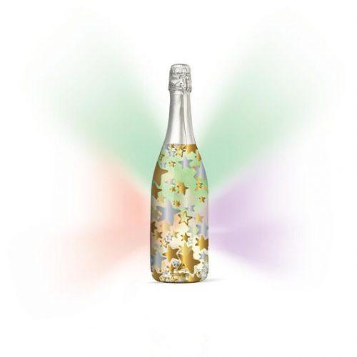 HEMA Cava Disco Delight Met Gekleurd LED Lampje 0.75L