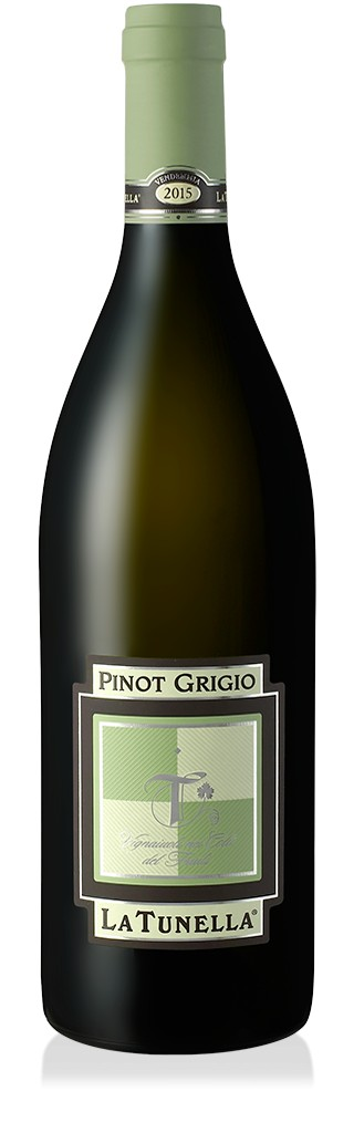 La Tunella Pinot Grigio Friuli 375ml, 2018, Italië, Witte Wijn