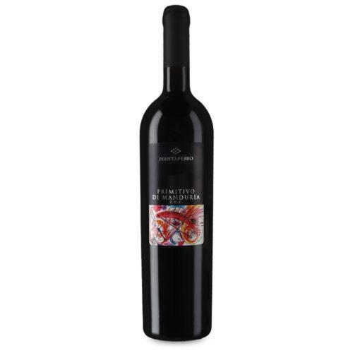 Piantaferro Primitivo di Manduria, 2017, Puglia, Italië, Rode wijn