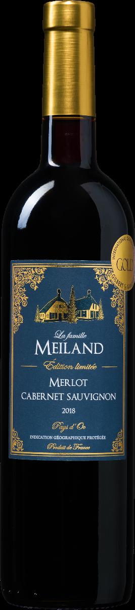 La famille Meiland Édition limitée Merlot-Cabernet Sauvignon Pays d'Oc IGP (1 fles)