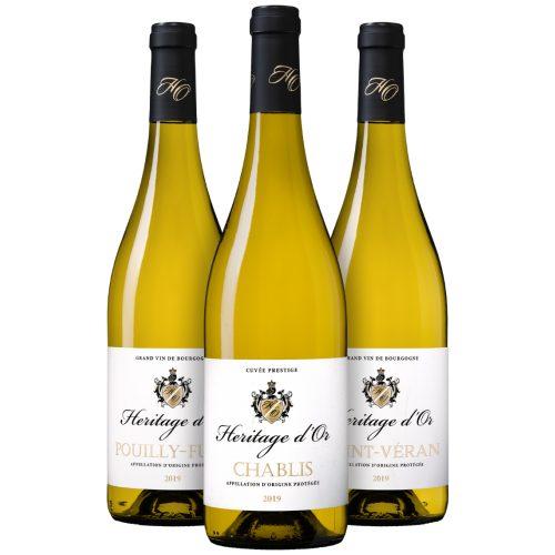 Wijnpakket Heritage d'Or (3 flessen)