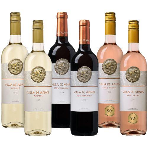 Wijnpakket Villa de Adnos