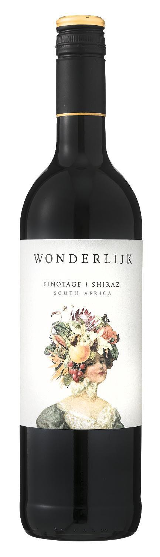Wonderlijk Wonderlijk Pinotage Shiraz - 0,75 L