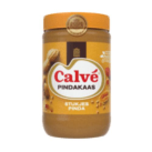 Calvé Pindakaas stukjes noot