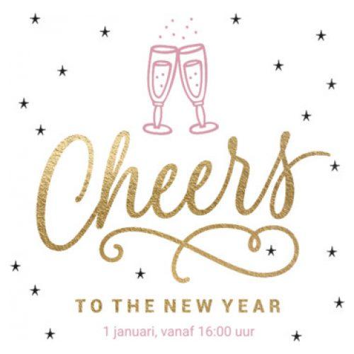 Luckz   Uitnodiging nieuwjaarsfeest Cheers